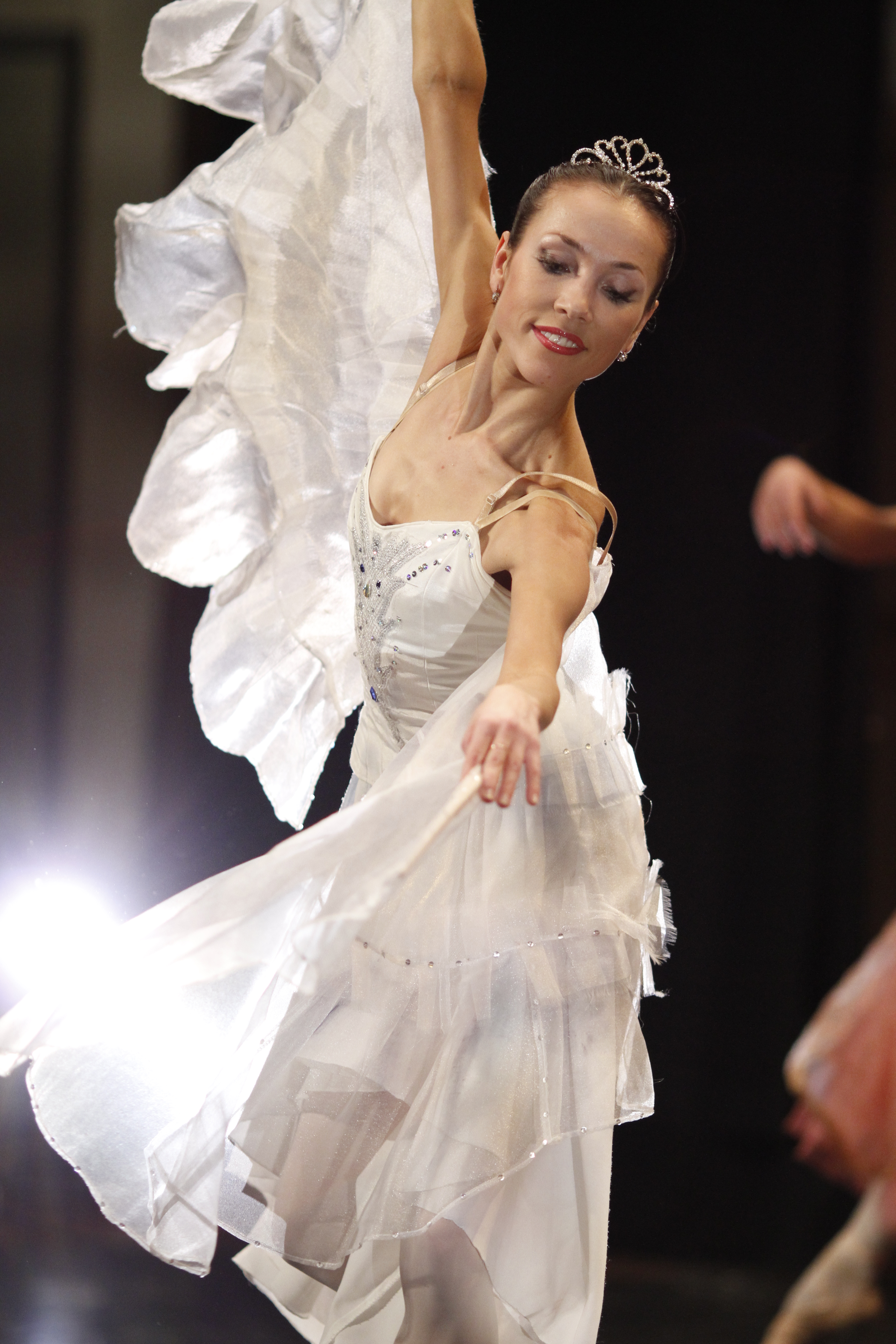 svetlana todinova as the dove of peace moscow ballet great russian nutcracker Public Nudity .