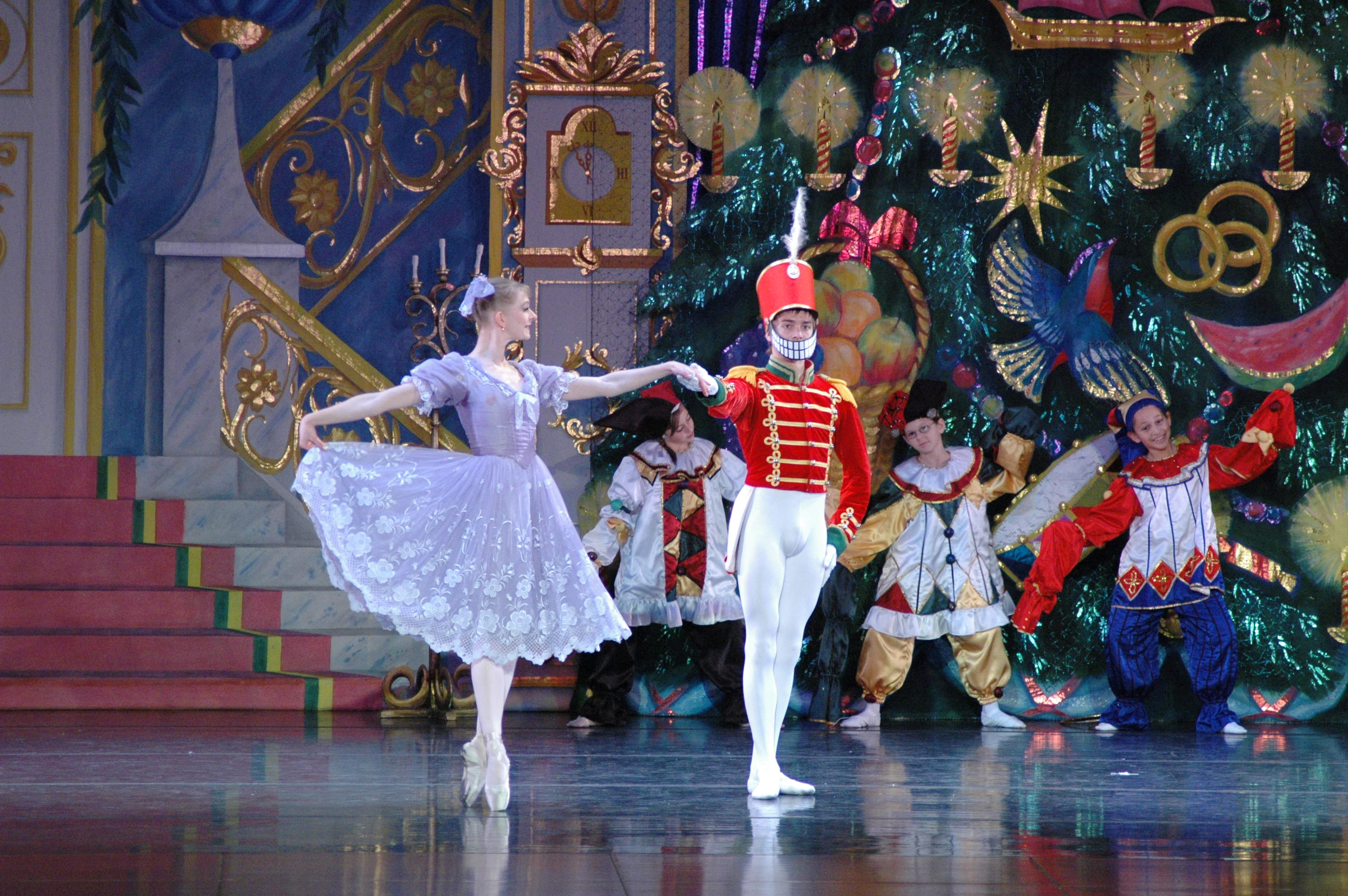 the nutcracker Ballet lubbock presents the nutcracker ballet, a favorite holiday tradition.