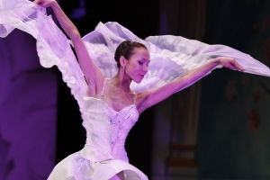 Moscow Ballet's Svetlana Todinova as the Dove of Peace