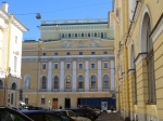 Approaching the world famous Vaganova Academy