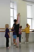 Moscow Ballet's Svetlana Todinova straches linits in class!