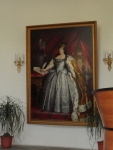 Empress Anna, founder of the Vaganova Academy, in the main lobby