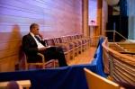 President Obama at Moscow Ballet rehearsal Bethesda