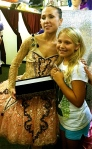 Svetlana Todinova and fan at Capezio-MB Meet the Masters event in Baltimore