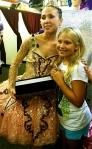 Svetlana Todinova and fan at Capezio-MB Meet the Masters event in Baltimore