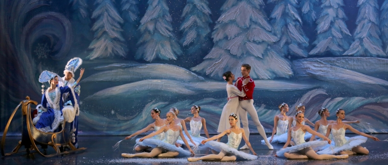 Great Russian Nutcracker Snow Scene