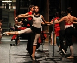 Moscow Ballet company in  great form at the barre