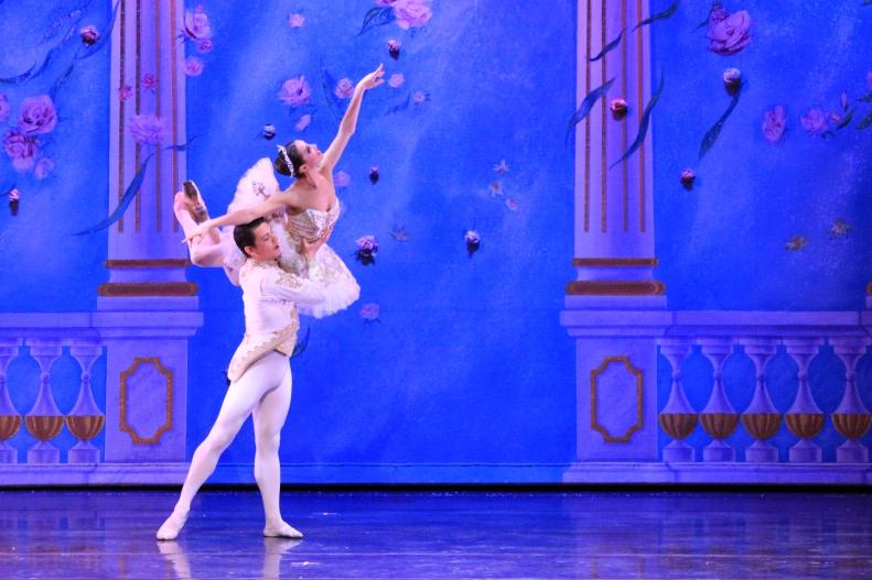 Moscow Ballet principals Ekaterina Tikhonova and  Viktor Shcherbakov