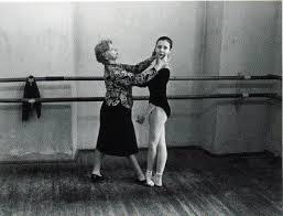 Agrippina Vaganova and young ballerina