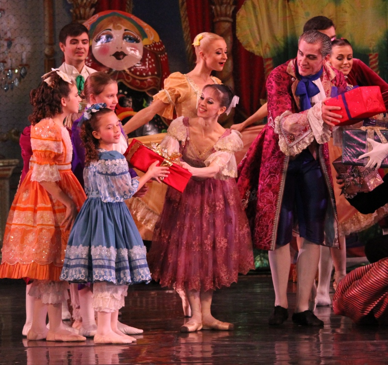 Dance with Us students in the Great Russian Nutcracker