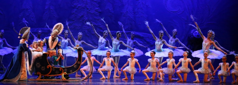 Grand Finale of Snow Forest scene from Act I