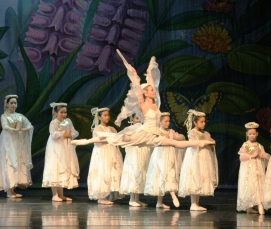 Moscow Ballet's Dove of Peace 1994 and Dance with Us students
