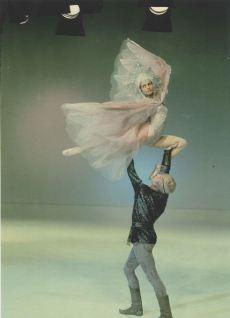 Stanislav Vlasov and Lilia Sabitova create the inspiration for Moscow Ballet's Dove of Peace